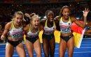 Deutsche Staffelfrauen feiern EM-Bronze