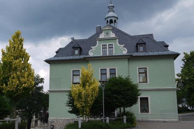 Das Rathaus Schönheide.