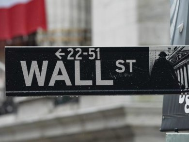 Kursverluste an der «Wall Street» in New York.