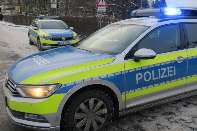 Die Polizei hat am Sonntag die Einhaltung der Sächsischen Corona-Schutz-Verordnung kontrolliert.