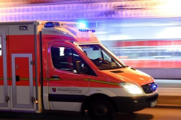 Drei Verletzte bei Arbeitsunfall