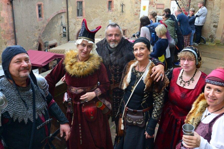 Fast wie vor Corona: Wenn nicht nur Ritter die Burg belagern