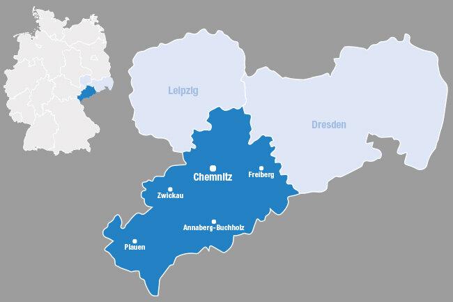 Der Direktionsbezirk Chemnitz