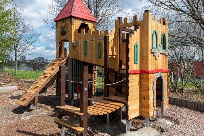 Neue Burg zum Toben
