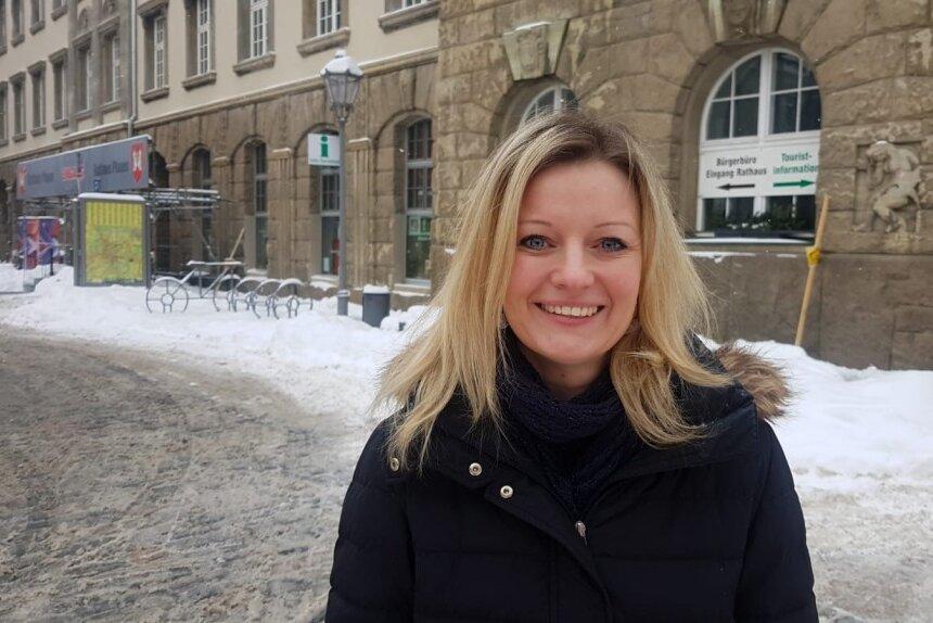 Sophie Gürtler übernimmt als neues Gesicht im Dachverband Stadtmarketing Plauen.