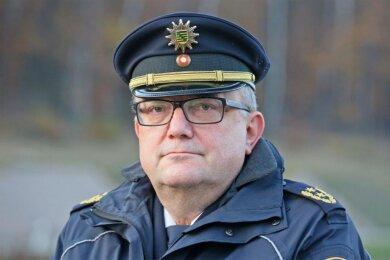 Conny Stiehl - Bis April Präsident der Polizeidirektion Zwickau