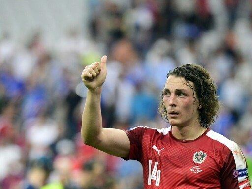 Julian Baumgartlinger führt die ÖFB-Elf als Kapitän an