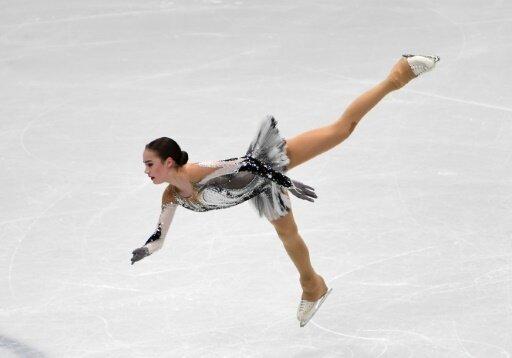 Alina Sagitowa kam auf insgesamt 238,45 Punkte