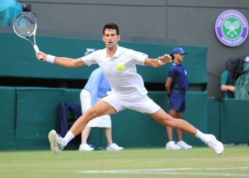 Novak Djokovic erreicht in Wimbledon das Viertelfinale