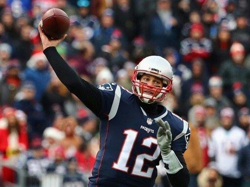 Brady und die Patriots kommen am Sonntag zum Einsatz