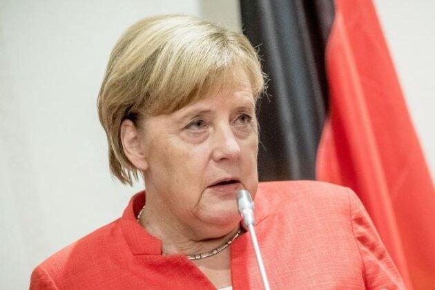 Vor Wahlen im Osten Debatte über Merkels Wahlkampfeinsatz