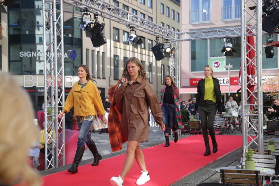 Sonne, Shopping, Sahne-Eis: So läuft der Fashion Day in Chemnitz