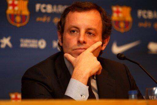 Muss vor Gericht: Barcelonas Ex-Präsident Sandro Rosell
