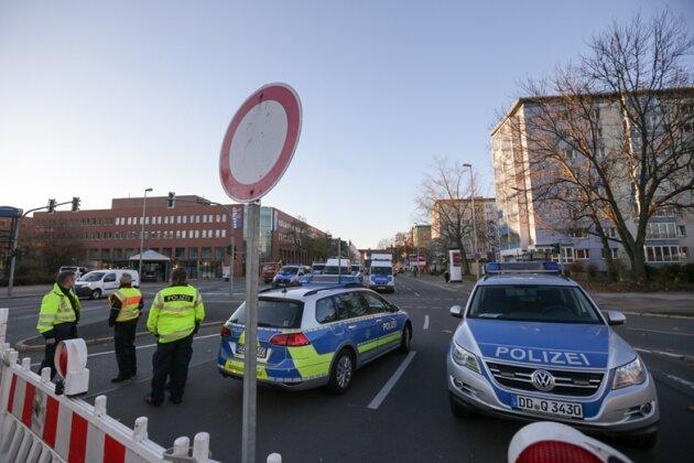 Merkel in Chemnitz: Verkehrsbehinderungen wegen Demo