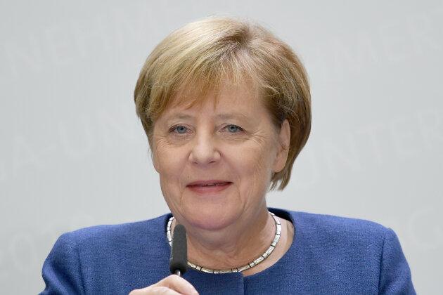 Angela Merkel (CDU) kommt nach Chemnitz.