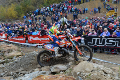 """Florian Görner (Foto) aus Scharfenstein hat wie andere Motorradgeländefahrer und Enduro-Fans aus der Region mit Freude zur Kenntnis genommen, dass """"Rund um Zschopau"""" auch 2021 wieder im WM-Kalender steht."""