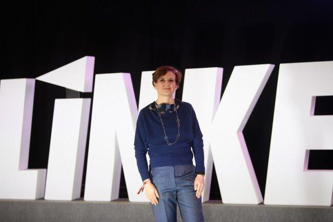 Die langjährige Linke-Bundesvorsitzende Katja Kipping führt ihren sächsischen Landesverband zum fünften Mal hintereinander als Spitzenkandidatin in die Bundestagswahl.