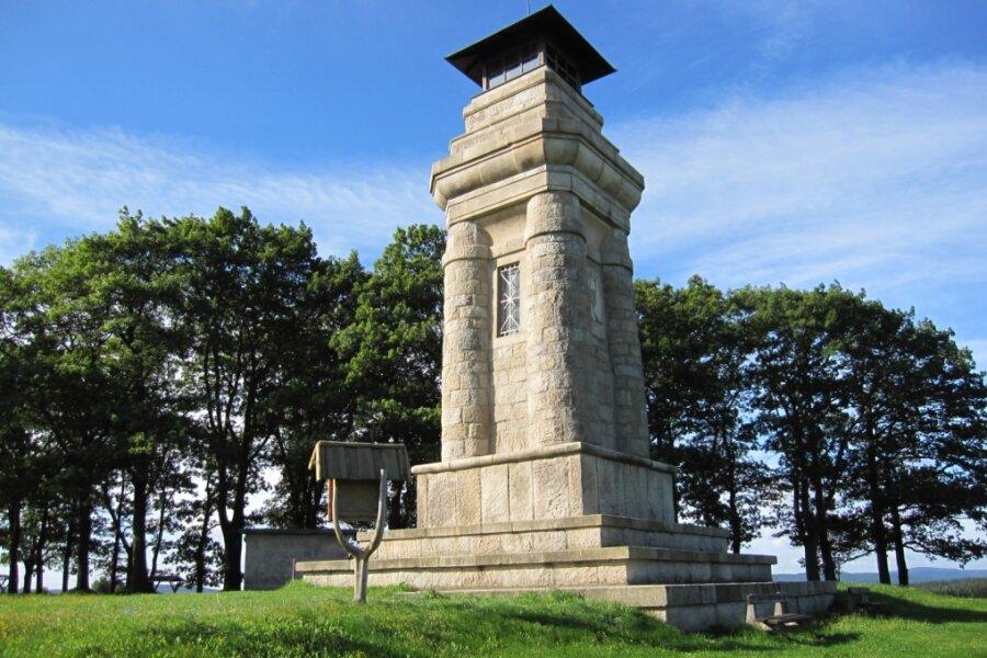 Bismarcksäule ist 120 Jahre alt
