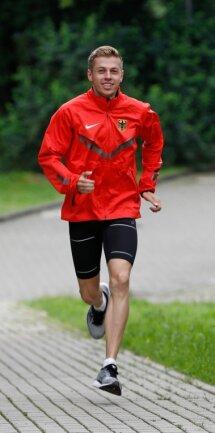 Tom Förster hat gut lachen: Der Top-Läufer hat sich für die Europa- und die Weltmeisterschaft der U 20 qualifiziert.