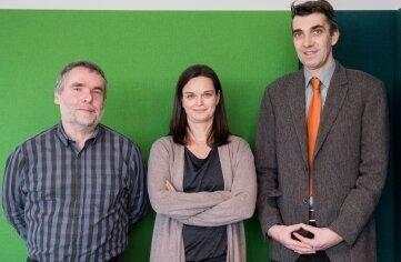 Am Lesertelefon waren diese Experten aus Dresden: Rentenberater Christian Lindner (l.), Romy Hückel, Deutsche Rentenversicherung, und Matthias Herberg, Fachanwalt für Sozialrecht.