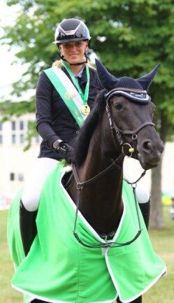 Nach Bronze 2018 und Silber 2019 wurde Julia Dotzauer dieses Jahr Sachsenmeisterin.