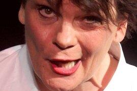 Die amerikanische Entertainerin Gayle Tufts.