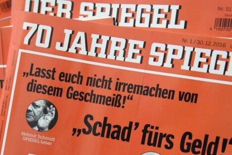 """Auf dem Titel seiner aktuellen Ausgabe zum 70-jährigen Jubiläum kokettiert das Nachrichtenmagazin """"Der Spiegel"""" damit, über Parteigrenzen hinweg der Politik ein unbequemer Wegbegleiter gewesen zu sein."""
