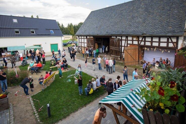 Der Lebenshof in Waldenburg war zum Hoffest am Samstag gut besucht.