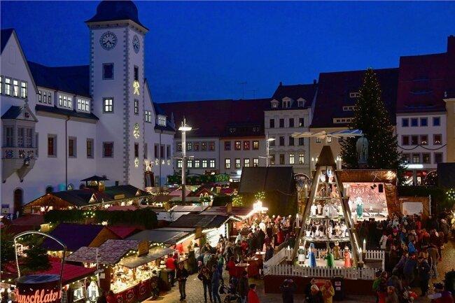 Lang ist es her: 2019 gab es den letzten großen Christmarkt in Freiberg.