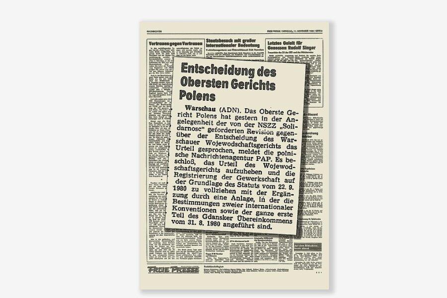 "1980: ""Solidarität"" in Polen gegründet"