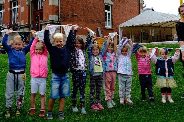 Kindergarten in Schönbrunn richtet Sommerfest aus