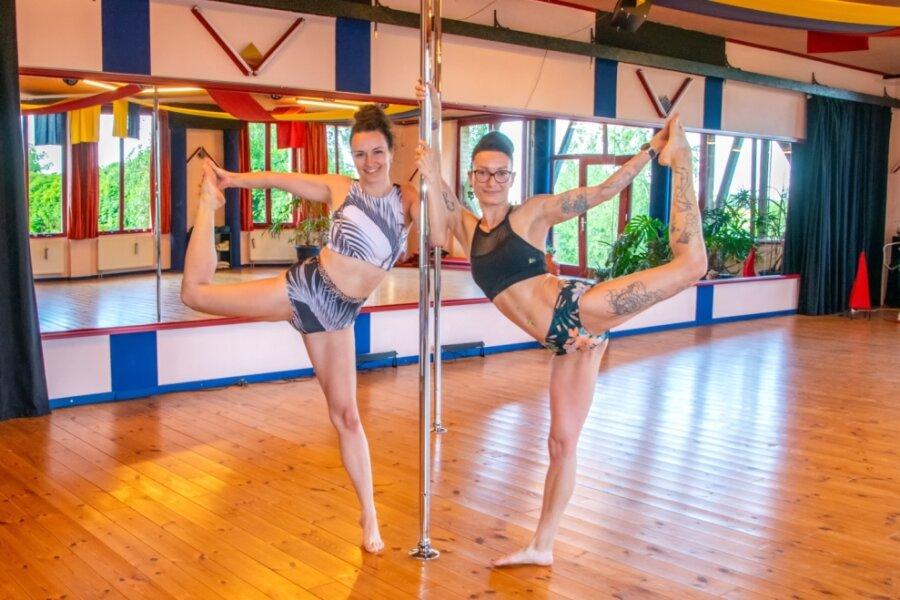 Poledance - Fitnesstraining an der Stange