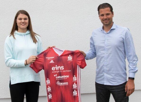 Erst im Sommer wurde Brigita Ivanauskaite verpflichtet. Trainer Norman Rentsch präsentierte damals die Spielerin.