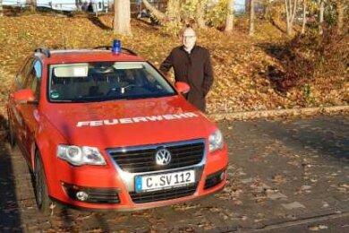 Sven Schulze (SPD) droht Evakuierungs-Muffeln mit der Polizei.
