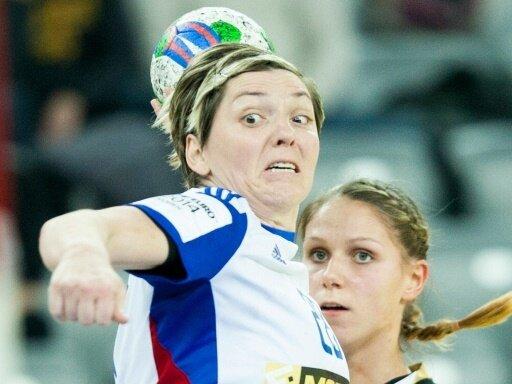 Lydia Jakubisova erzielte den entscheidenden THC-Treffer