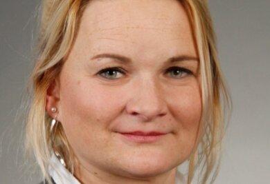 Cathleen Martin, Vorsitzende der Deutschen Polizeigewerkschaft in Sachsen.