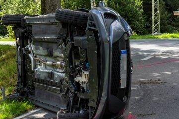 Am Hyundai entstand Totalschaden.