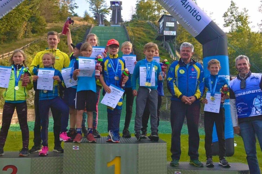 SSV Geyer heimst Medaillen bei Sachsenmeisterschaft ein