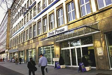 Freie-Presse-Shop Brückenstraße in Chemnitz