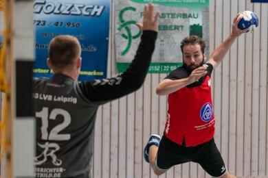 Florian Morczinek war der einzige HSG-Spieler mit einer guten Chancenverwertung.