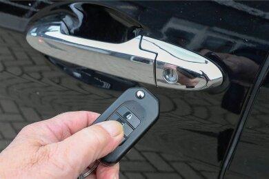 Ist inzwischen Standard: ein Autofunkschlüssel.