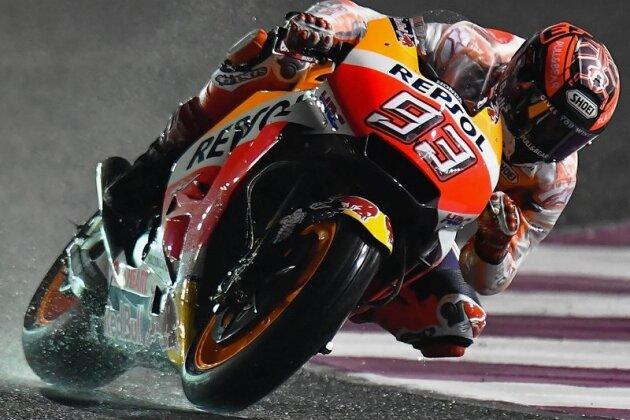 Titelverteidiger Marc Marquez deutete bei den Tests vor dem Auftakt-Grand-Prix am Wochenende in Katar an, dass er und seine Honda das Maß aller Dinge im Titelrennen der MotoGP sein werden.