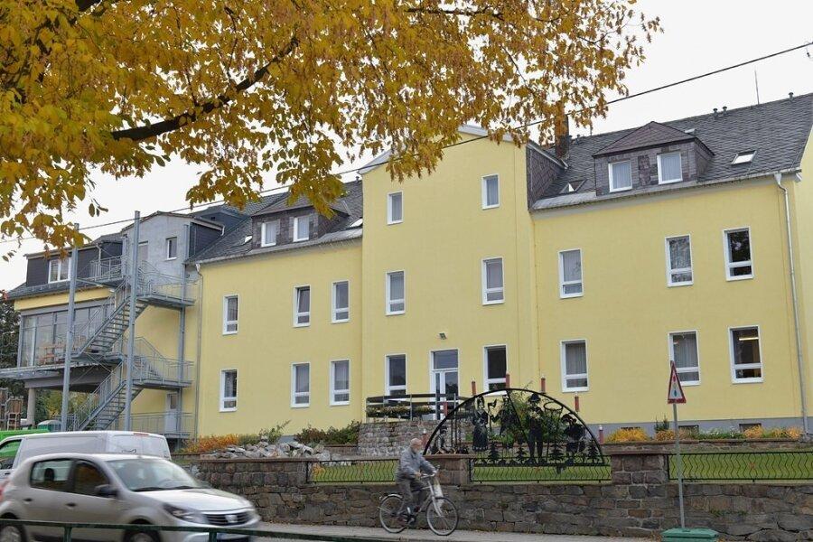 Im Pflegeheim Großhartmannsdorf wurden 33 Bewohner und Pflegekräfte einem Coronatest unterzogen.. Foto: Eckardt Mildner