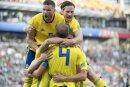 Die Schweden jubeln über ihren Gruppensieg