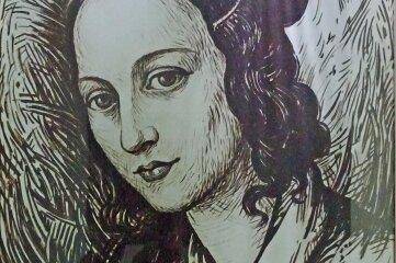 Clara Schumann, geborene Wieck, in einer Darstellung des Malers Hans Hegner.