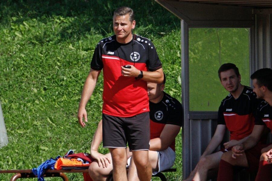 MSV-Trainer Sven Schmidt trifft am Sonntag auf die Mannschaft, die er in die Landesklasse führte.