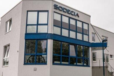 Die Sodecia Powertrain GmbH in Oelsnitz.