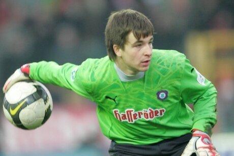 Martin Männel kam im Sommer 2008 von Energie Cottbus zum FC Erzgebirge und wurde zur Nummer eins.