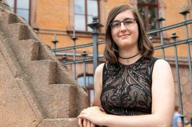 Marie Sophie Steinert ist eine der beiden Jahrgangsbesten am Gymnasium Rochlitz. Mit der Note 1,0 hat sie ihr Abitur bestanden.