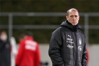 Joe Enochs, Trainer des FSV Zwickau